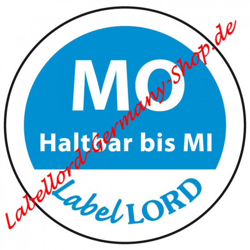 Labellord Montag Flushlabel